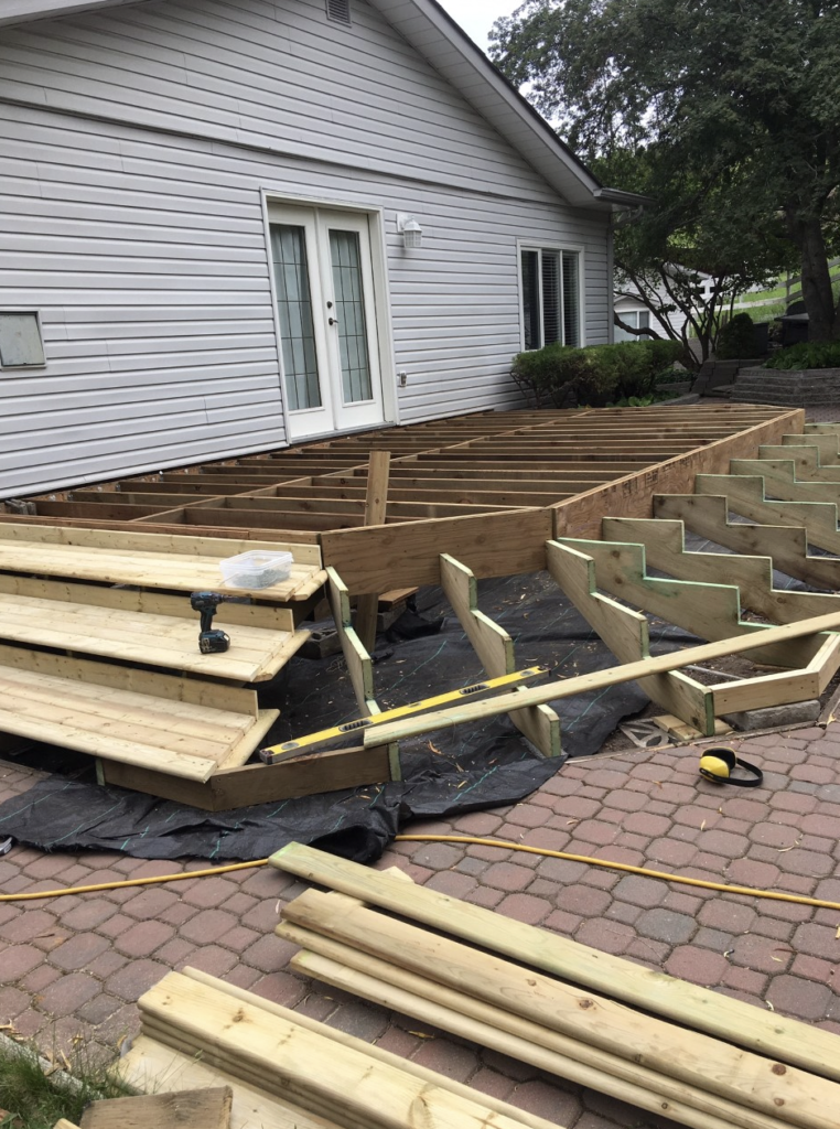 Deck Framing And Construction Foundation