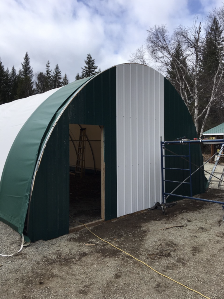 Home Addition- Quonset Shelter